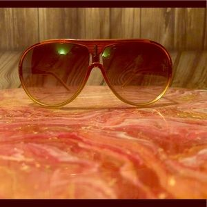 Unknown Brand Brown how fashion Sunglasses